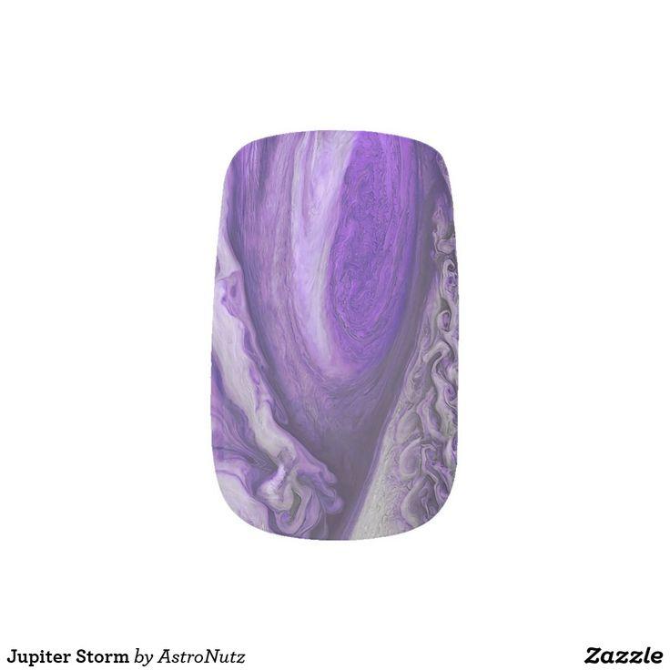 Jupiter Storm Minx Nail Art