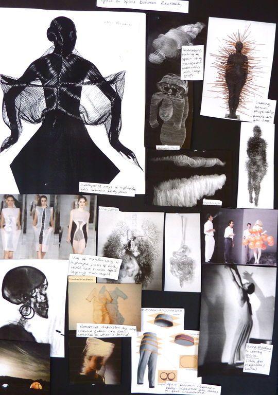 Fashion Sketchbook drawings, research, design & development; the creative process; fashion design portfolio