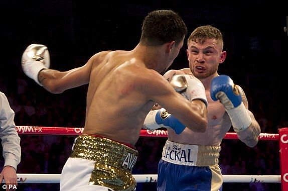 Carl Frampton stops Chris Avalos to retain IBF super-bantamweight title | Carl Frampton #CarlFrampton