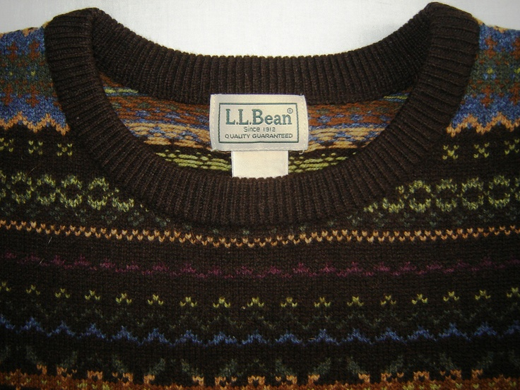 LL Bean - Heritage Irish Fisherman's Crewneck Sweater | Sartorial ...