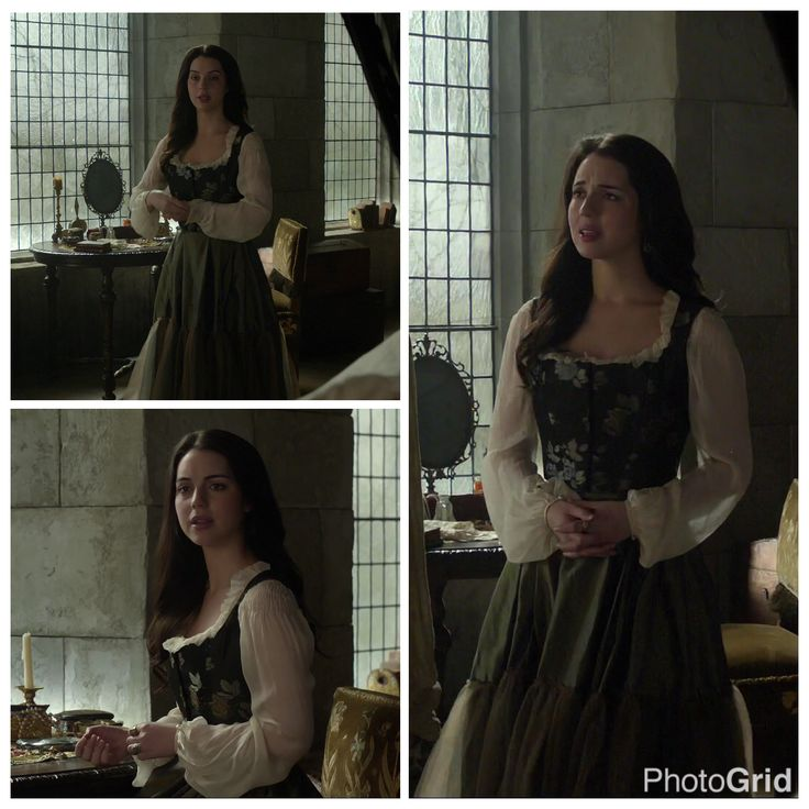 Mary's Black, Green, and White Dress 3x13: Strange Bedfellows