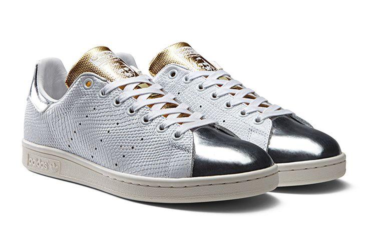 adidas stan smith oro argento