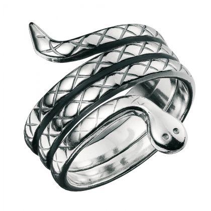 Kalevala Koru / Kalevala Jewelry / SNAKE RING / Material: silver