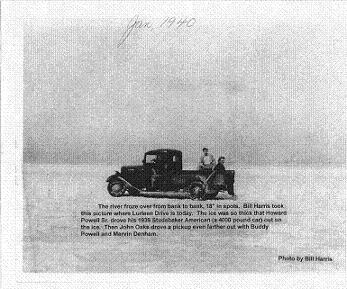 Lake Guntersville Frozen Solid In January 1940 Photo By