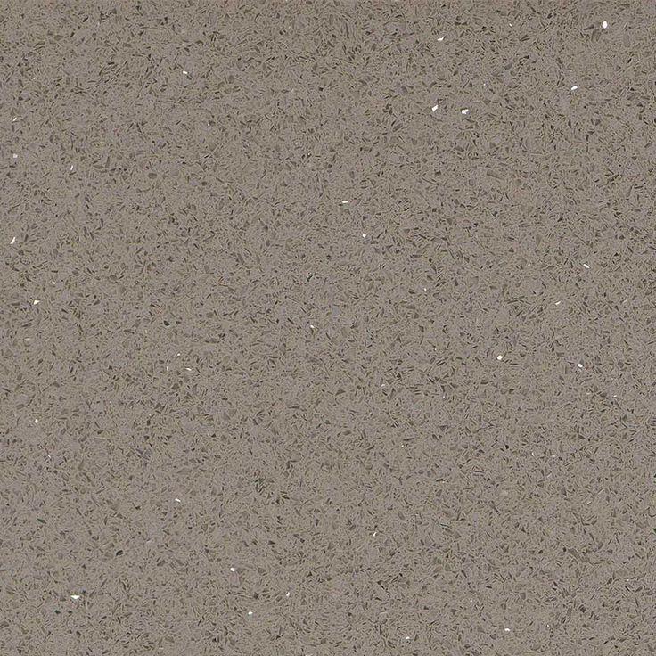 Stellar Gray Quartz Slab