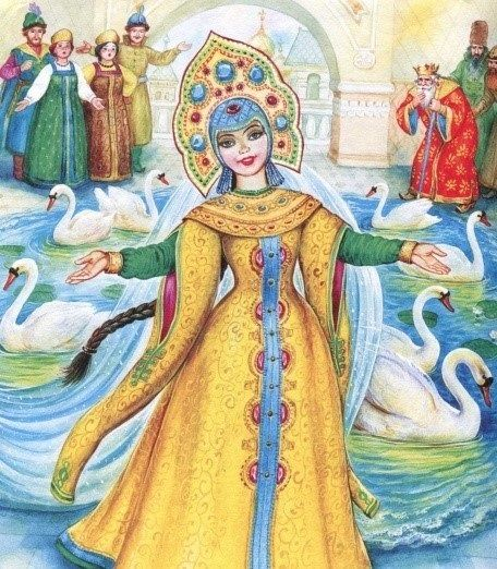 Юбилеем, картинки сказочные герои царевны