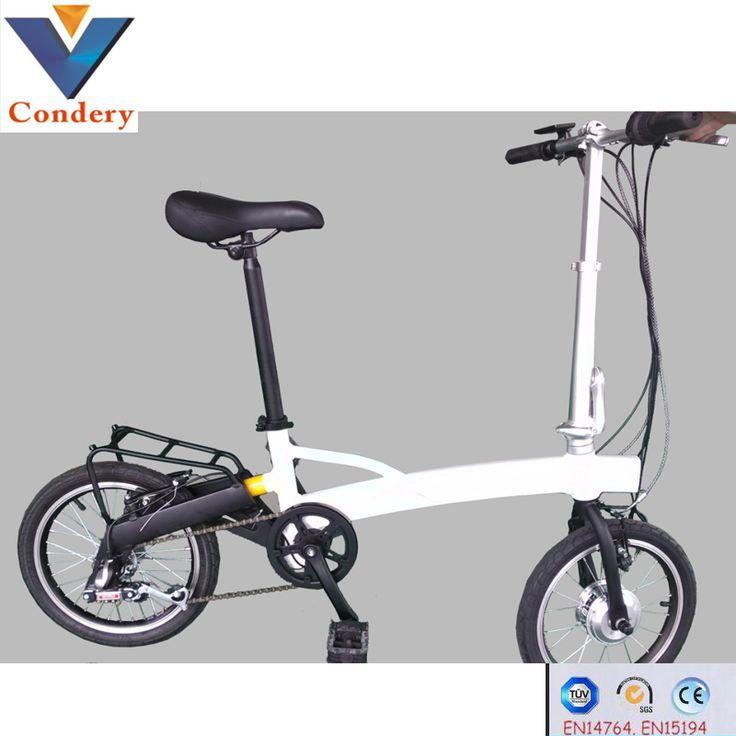 """Eléctricos bicicleta plegable 16 """"250 w eléctrica plegable bicicletas pasado en15194 en14764 bicicleta eléctrica china-Bicicletas eléctricas-Identificación del producto:60471999241-spanish.alibaba.com"""