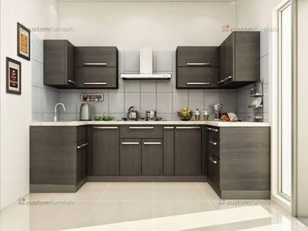 Image Result For Indian Modular Kitchen Design U Shape Kitchen