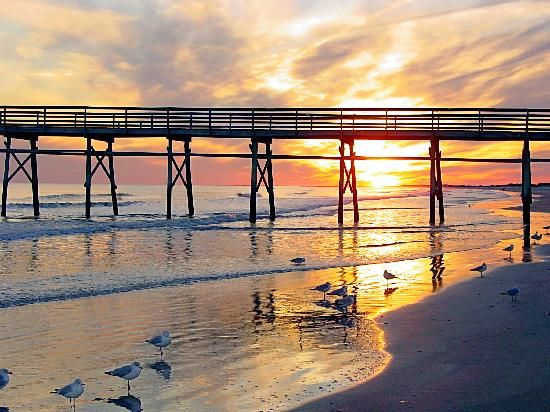 Travel America The American Experience| Serafini Amelia| Sunset Beach, NC - my absolute favorite place to visit... dreaming of this beach with a good book in my hand soaking up the sun