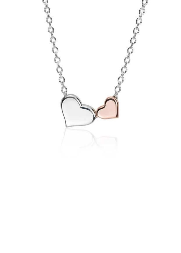 This delicate and sweet pendant, with its two nesting hearts, is a perfect symbol of love. It also makes an adorable, affordable bridesmaid gift.