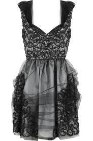 Anna Sui Organza cocktail dress