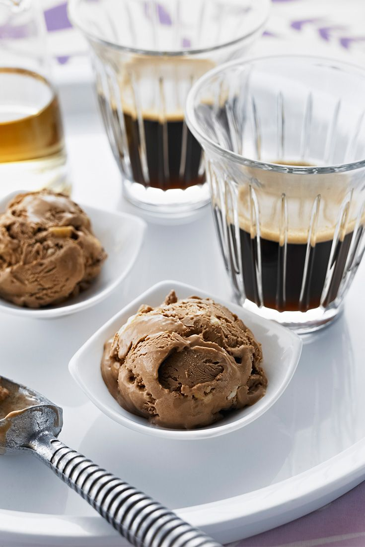 Roasted Hazelnut Ice Cream Affogato Recipe is the ultimate dessert recipe for coffee lovers