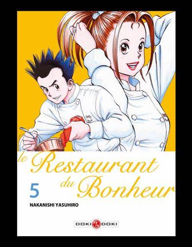 Le restaurant du bonheur manga volume 5
