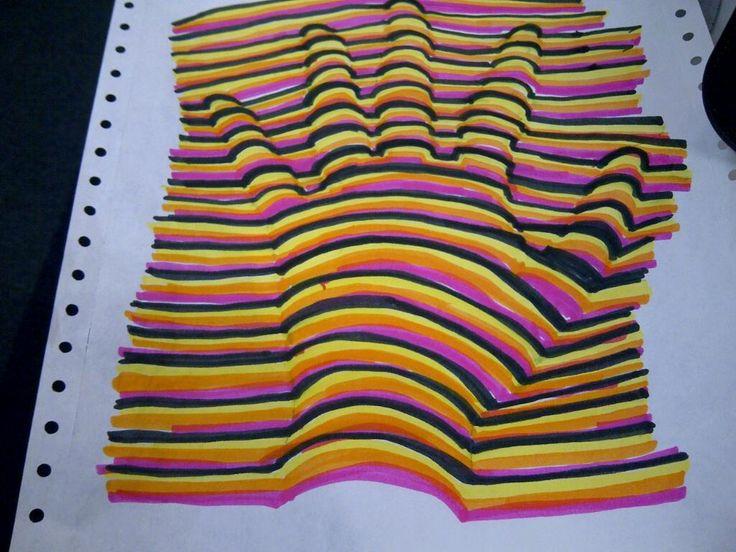 3D Optical Illusion Hand Picture - Mr.Kacur's Artworld ...