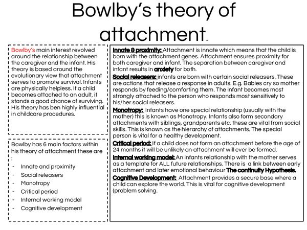 Bowlby, Ainsworth, the incomparable Harlow & Attachment Theory