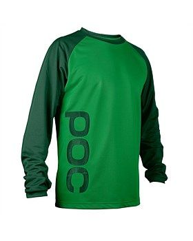 The Flow Jersey is made of highly breathable polyester which efficiently wicks moisture away from your skin to keep you cool and dry. Sleeve cuff and printed logo on front and back. Buy Now http://www.outsidesports.co.nz/Brands/POC.htm#catpage=6