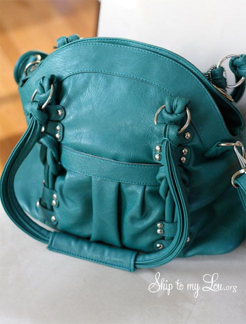 ephiphanie camera bag!! Turquoise of course