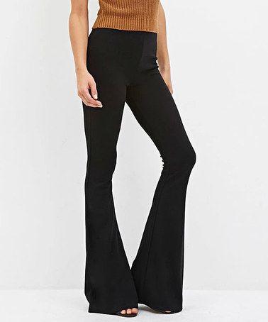 Look at this #zulilyfind! Black Flare Pants #zulilyfinds