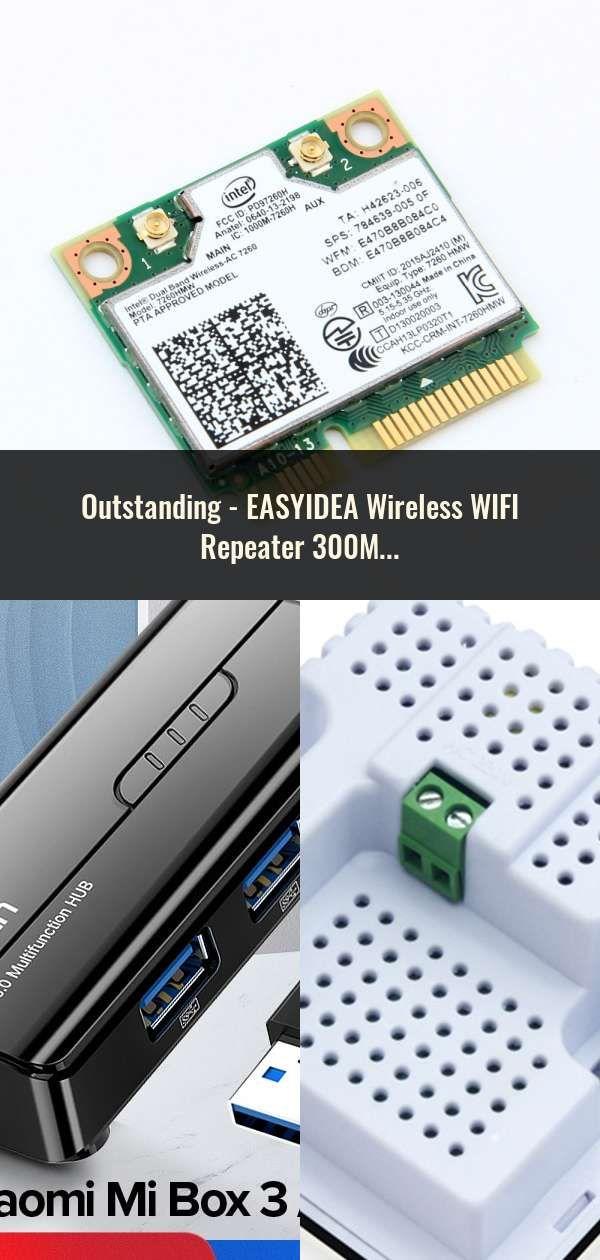 Easyidea Wireless Wifi Repeater 300mbps Wifi Extender Long Range Wi Fi Signal Amplifier Wi Fi Booster Access Point Wlan Repiter En 2020