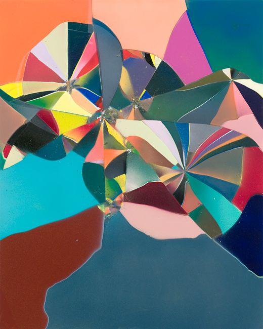 Tauba Auerbach, Shatter III, 2009