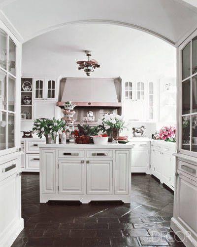 Manhattan Kitchen By Decorator James Aman Terra-cotta