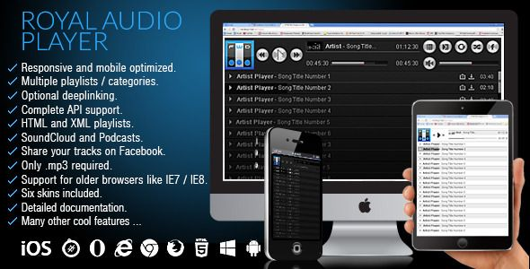 Royal Audio Player (Media)
