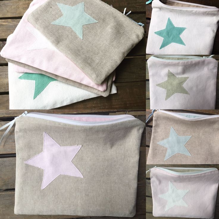 Beautiful hand made linen pouches- made with love by Alli's Originals