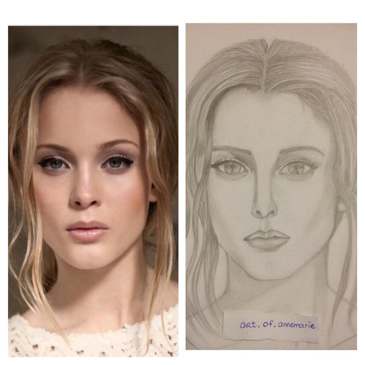 Zara Larsson portrait, pencil drawing