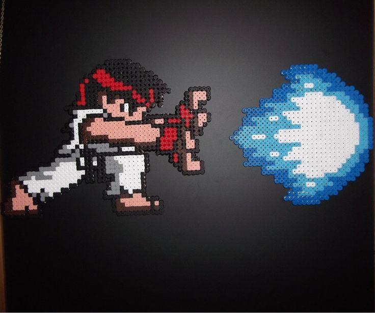 Ryu Hadouken | Ryu and Hadouken by capricornc5