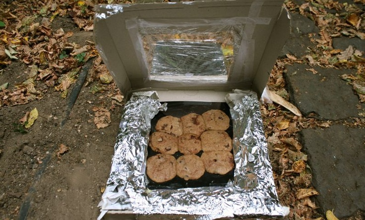 MAKE - Solar Powered Oven - Two Thousand