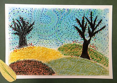 For the Love of Art: 6th Grade: Van Gogh Autumn Landscapes