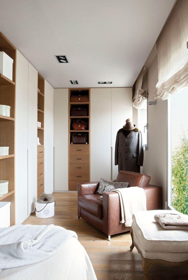 10 vestidores muy prácticos · ElMueble.com · Otras estancias