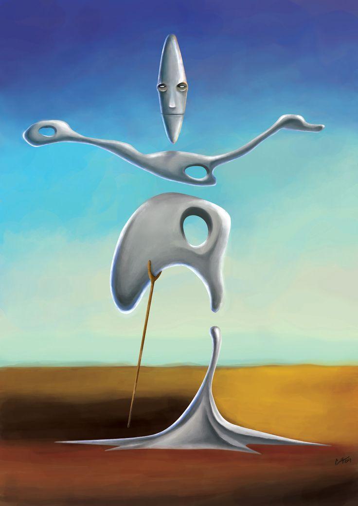 Dali - one can #meditate on him.