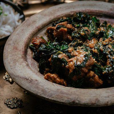 Lamb Saag  #curry #india #indianfood #indiancuisine #cuisine #food #recipe #foodinspiration #travelfood #authenticindia