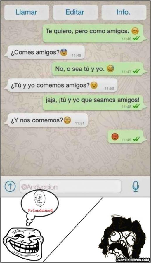 Ríe sin parar con lo mejor en los memes mas chistosos en español, memes en español facebook, memes graciosos para descargar y más diversión exclusiva para ti. Comparte nuestro contenido fácilmente con tus amigos en