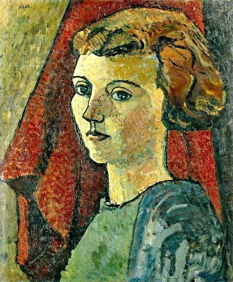 Eileen Agar, Self Portrait, 1927 on ArtStack #eileen-agar #art