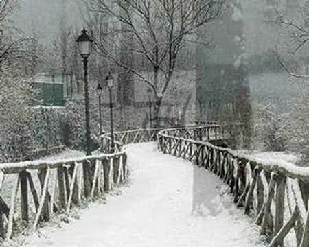 INVERNO - FABRIZIO DE ANDRE' - adattissima a questi giorni nevosi..