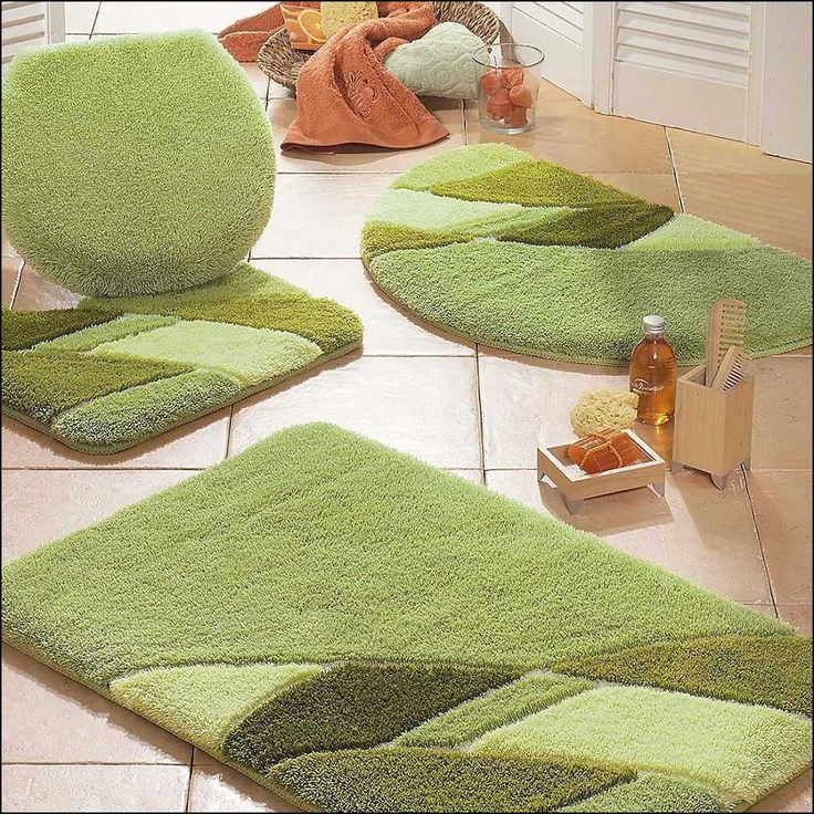 Lime Green Bath Rugs