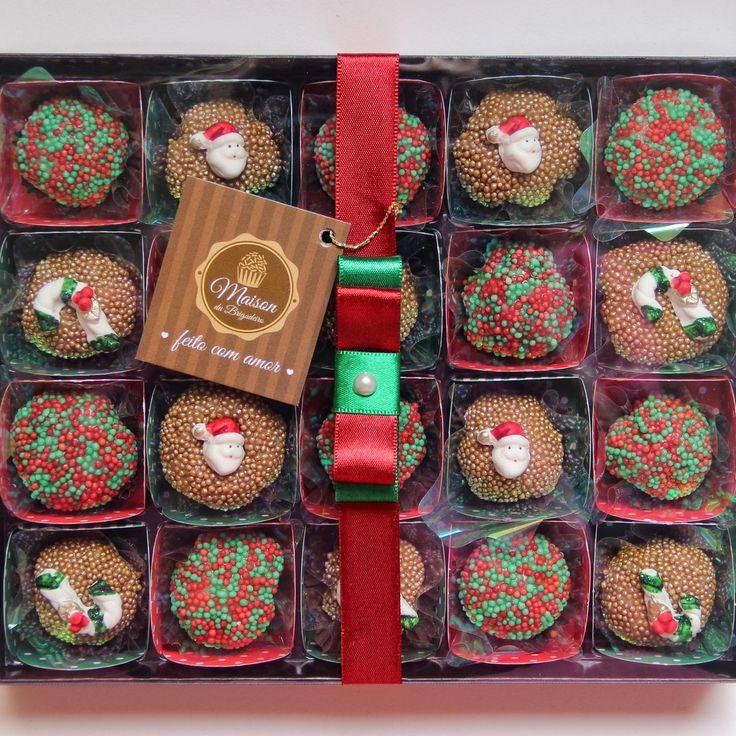 Natal - Caixa 20 brigadeiros gourmet                                                                                                                                                      Mais