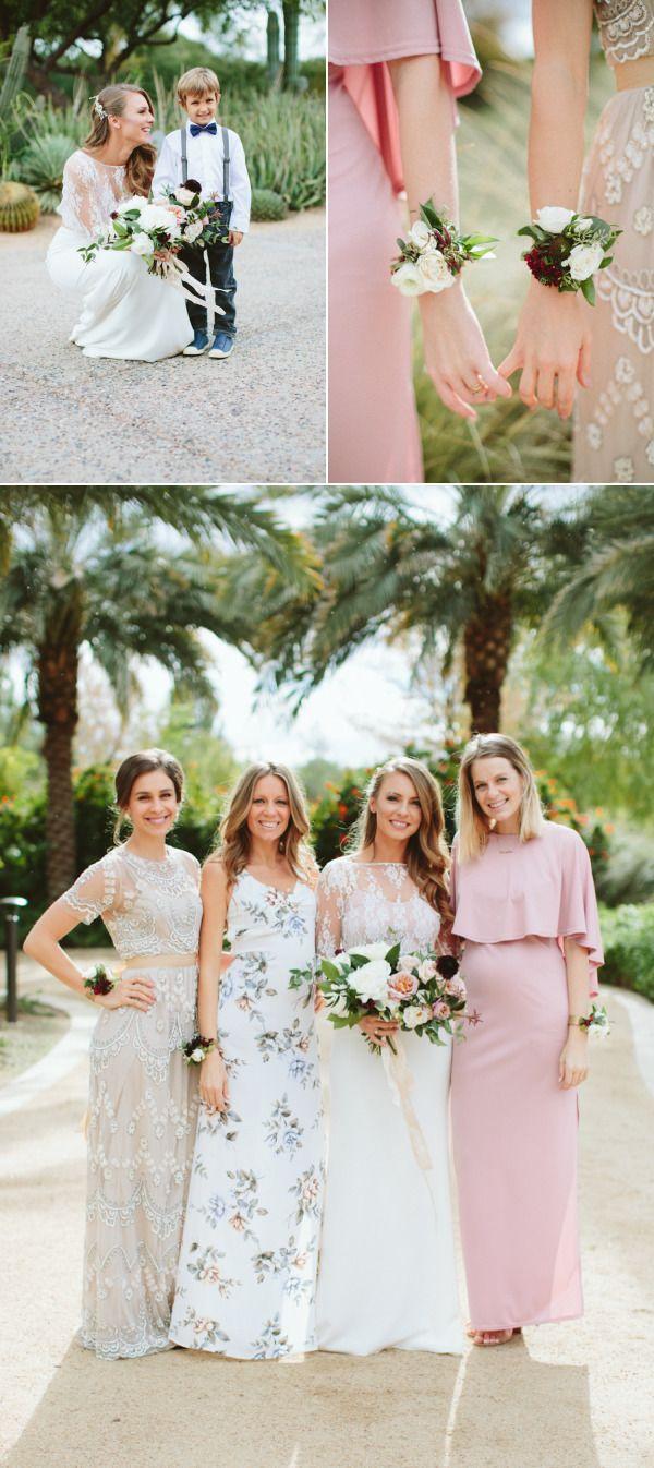 The 25 best bridesmaid corsage ideas on pinterest wrist corsage al fresco scottsdale wedding stunning two piece dress bridesmaid ombrellifo Image collections