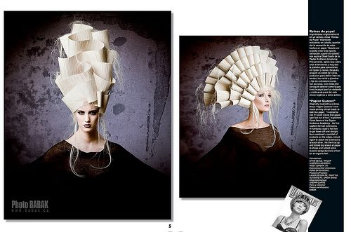 Avant Garde Hair Fashion