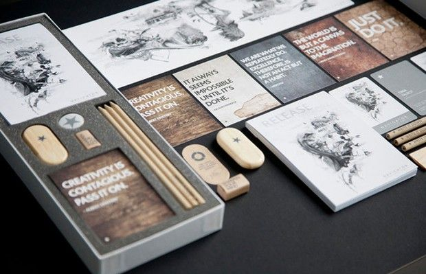 Brett Atherstone graphic design