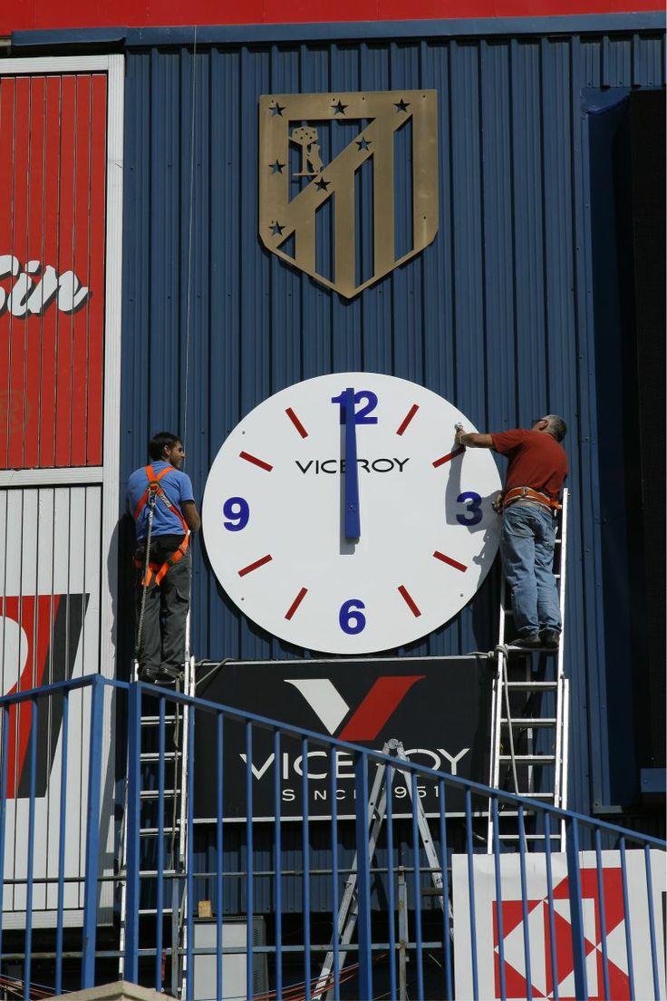 Reloj del estadio vicente calderon