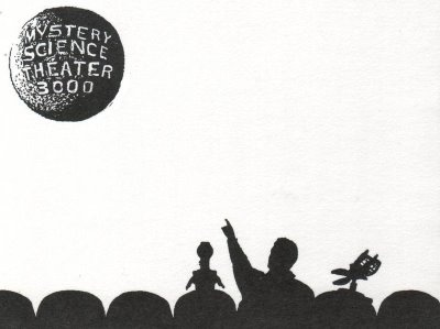 Mystery Science Theatre 3000Theatres 3000, Science Theater, Theater 3000, Favorite Tv, Silhouettes Stickers, Finding Interesting, Science Theatres, Julianne Fav, Mysteries Science