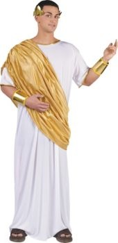 Adult Hail Caesar Costume- Egyptian, Roman, Greek- Mens Costumes- Halloween Costumes - Party City