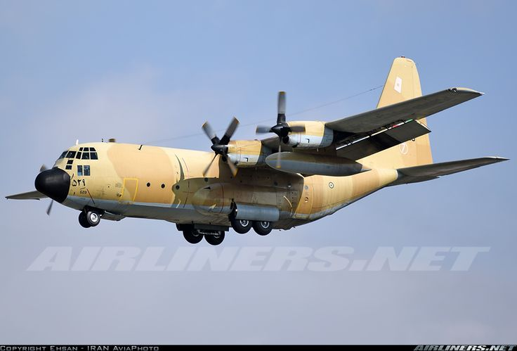 Lockheed C-130H Hercules, Iran Air Force, 5-8529, cn 382-4448. Tehran, Iran, 10.1.2016.