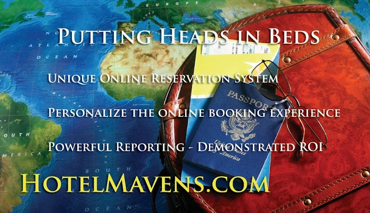 Putting Heads In Beds - Especially for Hotels and Vacation Rentals