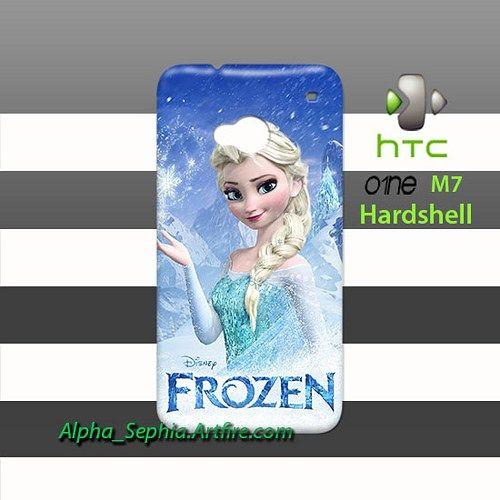 Queen Elsa Frozen HTC One M7 Case Cover Hardshell