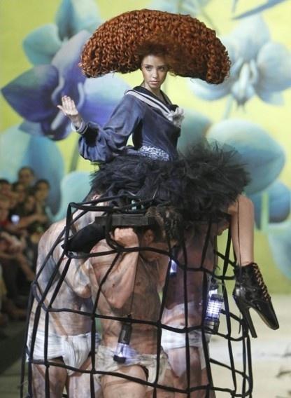 'lazy dress' by Oleksiy Zalevskiy  #fashion #hautecouture