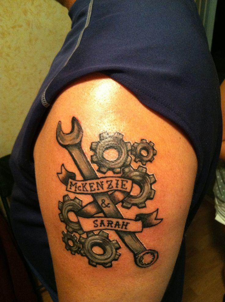 Diesel Mechanic Tattoos Diesel
